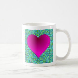 Antique Blue Elegant Design Coffee Mug