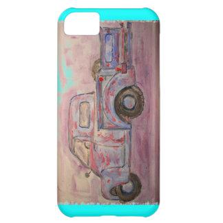 antique blue patina truck iPhone 5C cover