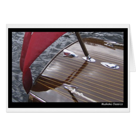 Antique Boat PhotoCard Card