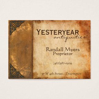 Antique Book Business Card