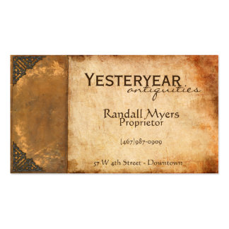Antique Book Business Card