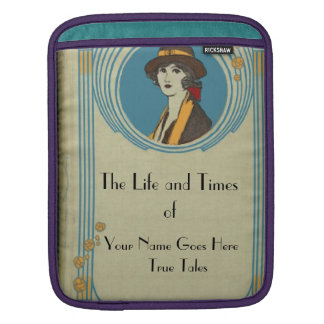 Antique Book Cover  I Pad Sleeve Sleeve For iPads