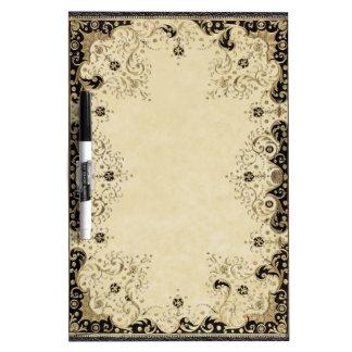 Antique Book Dry-Erase Board