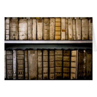 Antique Books 17th Century Vellum Bindings Card