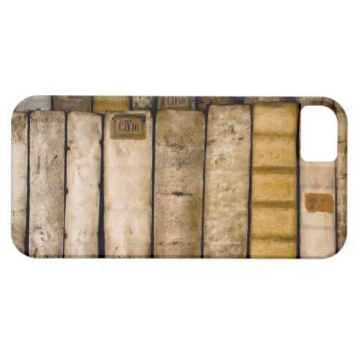 Antique Books 17th Century Vellum Bindings iPhone 5 Cases