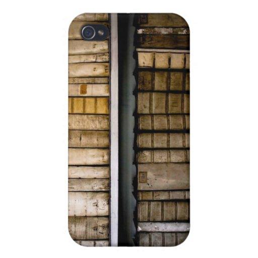Antique Books 17th Century Vellum Bindings iPhone 4 Cases