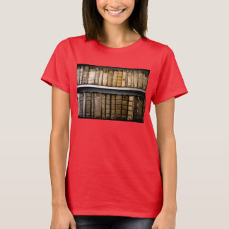 Antique Books 17th Century Vellum Bindings T-Shirt