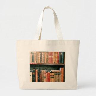 Antique Books Large Tote Bag