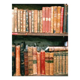 Antique Books Letterhead