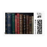 antique books postage stamps