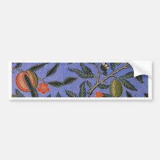 Antique Botanical Design Car Bumper Sticker