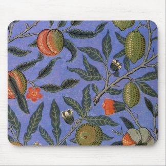 Antique Botanical Design Mouse Pad