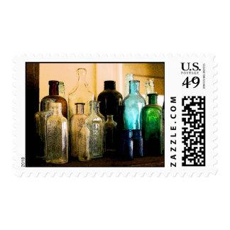 Antique bottles postage