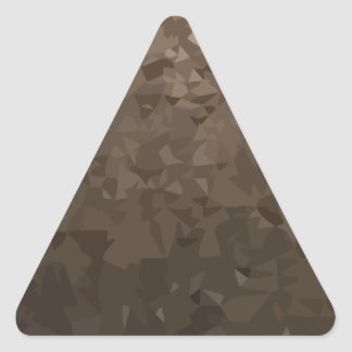 Antique Brass Camo Abstract Low Polygon Background Triangle Sticker