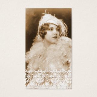 Antique Bridal Wedding Business Cards