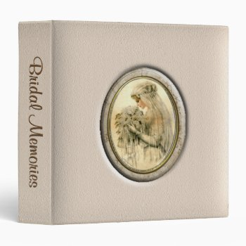 Antique Bride Bridal Memories Personal Binder