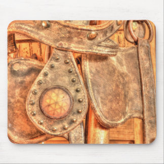 Antique Bridle Mouse Pad
