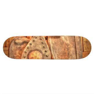 Antique Bridle Skate Board
