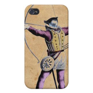 Antique British Costume 15th Century Bowman iPhone 4 Cover