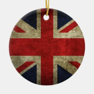 Antique British Union Jack Flag UK Ornaments