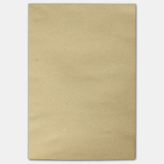 Antique Brown Blank Paper Post-it® Notes