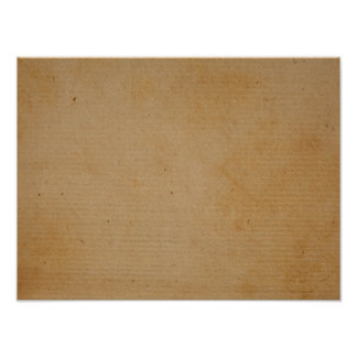 Antique Brown Paper Background Texture Design Poster
