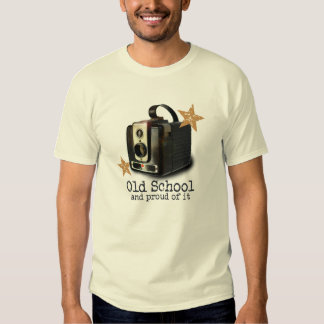 Antique Brownie camera Old School t-shirt
