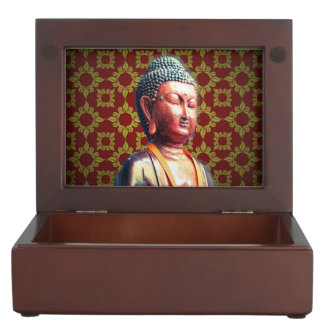 Antique Buddha Memory Box