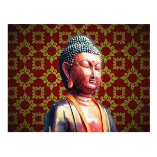 Antique Buddha Postcard