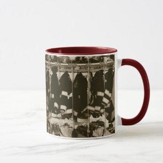 Antique Bunker Gear Ringer Mug