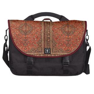 Antique Burgundy Persian Carpet Commuter Bags