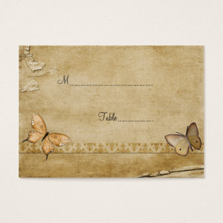 Antique Butterfly Table Place Card