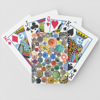 Antique Button Playing Cards