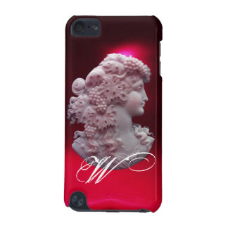 ANTIQUE CAMEO, LADY WITH GRAPES AND GRAPEVINES iPod TOUCH 5G CASE