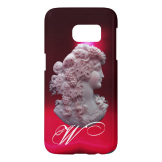ANTIQUE CAMEO, LADY WITH GRAPES AND GRAPEVINES SAMSUNG GALAXY S7 CASE