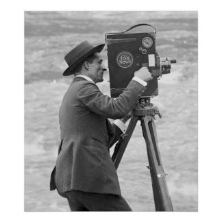 Antique Camera Man, 1918 Poster