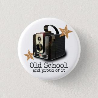 Antique camera Old School button