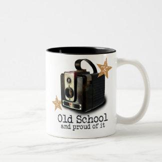 Antique camera Old School mug