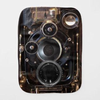 Antique Camera Photography Film Lens Baby Burp Cloth