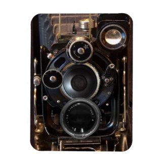 Antique Camera Photography Film Lens Rectangular Photo Magnet