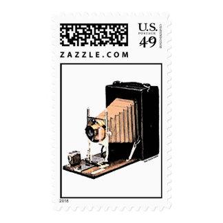 Antique Camera Postage Stamps