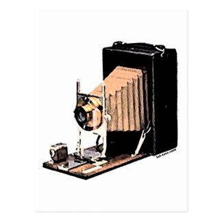 Antique Camera Postcard