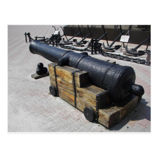 Antique Cannon Postcard