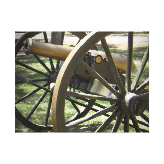 Antique Canon at Fort Stanton New Mexico Stretched Canvas Print