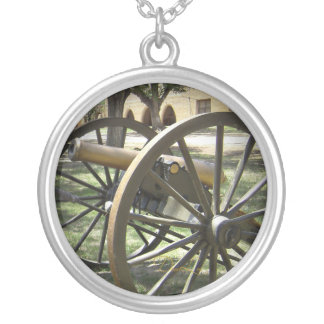 Antique Canon at Fort Stanton New Mexico Personalized Necklace