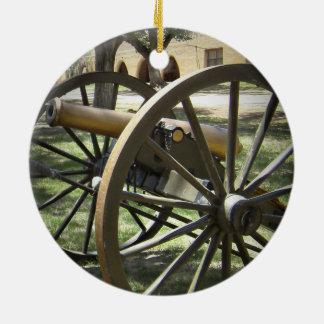 Antique Canon at Fort Stanton New Mexico Ornament