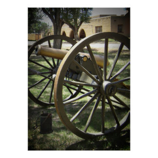Antique Canon at Fort Stanton New Mexico Posters