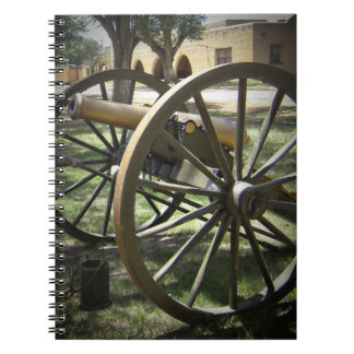 Antique Canon at Fort Stanton New Mexico Spiral Notebook