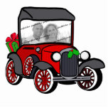 "Antique Car Christmas Photo Statuette<br><div class=""desc"">Customize this Antique car with your own photo for any couple.  Great for newlyweds and anniversaries.   A Christmas gift that will be cherished always.</div>"