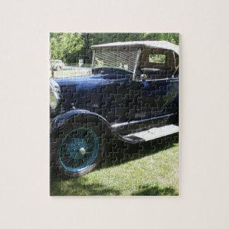 Antique car jigsaw puzzle